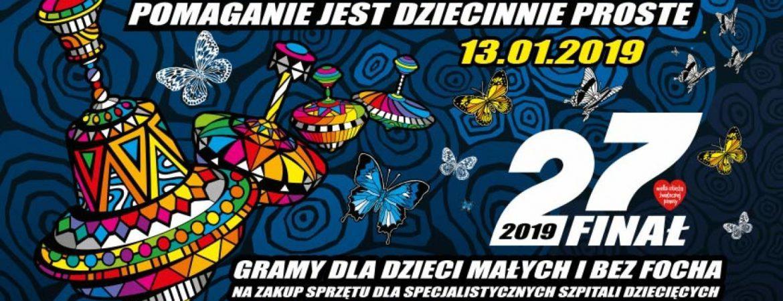Kwestowanie ifinał WOŚP 2019 wDąbrównie.